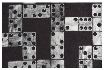 Domino-fabric